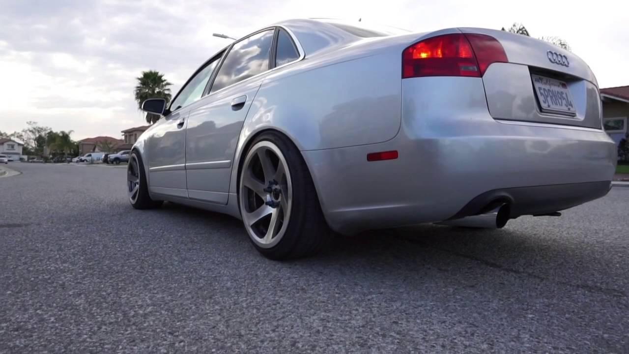 Audi B7 A4 Custom 3 Inch Exhaust Youtube