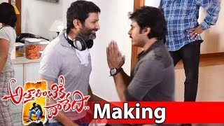 Attarintiki Daredi Movie Making || Pawan Kalyan Hangover Scene