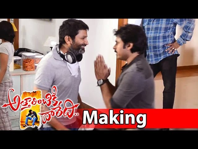 Attarintiki Daredi Movie Making || Pawan Kalyan Hangover Scene Travel Video