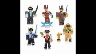 Legends of roblox six fig pack unboxing and review