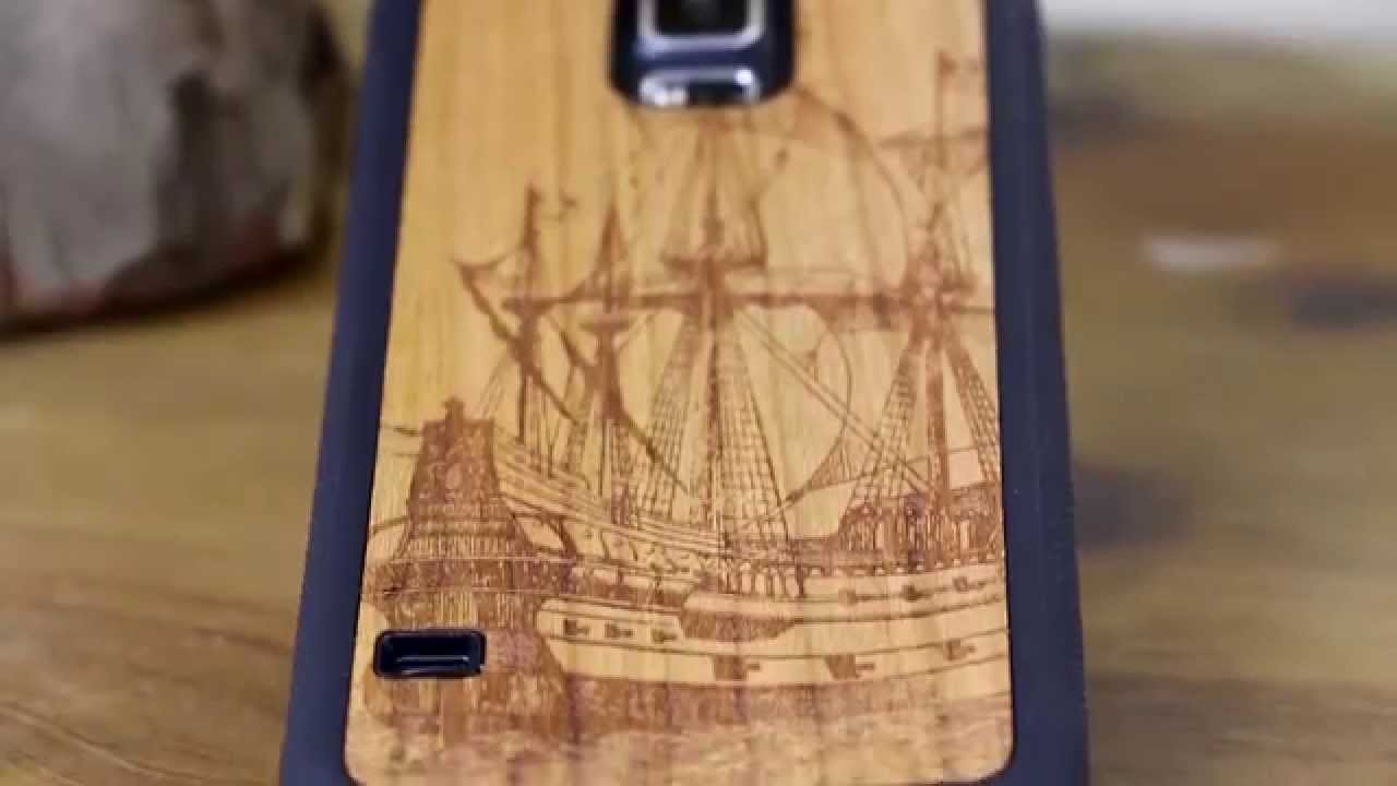 new style 78c7e 4f807 Carved Traveler Wood Case For Samsung Galaxy S5 Review