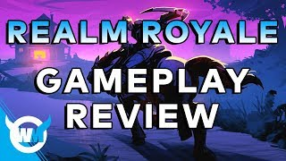 REALM ROYALE! - GAMEPLAY AND FIRST REVIEW - Paladins Battle Royale