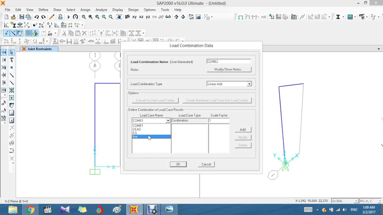 Moment And Shear Diagrams Using Sap2000 Youtube Frames Besides Bending Diagram Frame On
