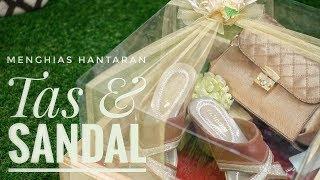 Hantaran Pernikahan Tas dan Sandal