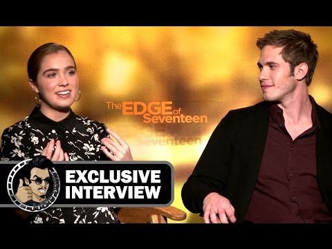 Blake Jenner & Haley Lu Richardson Exclusive Interview - THE EDGE OF SEVENTEEN (2016) JoBlo.com