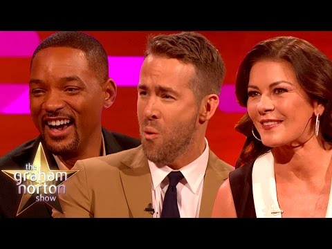 Thumbnail: Will Smith, Ryan Reynolds and Catherine Zeta-Jones Talk Accents - The Graham Norton Show