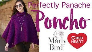 How to Crochet Perfectly Panache Chic Poncho by Kristin Omdahl