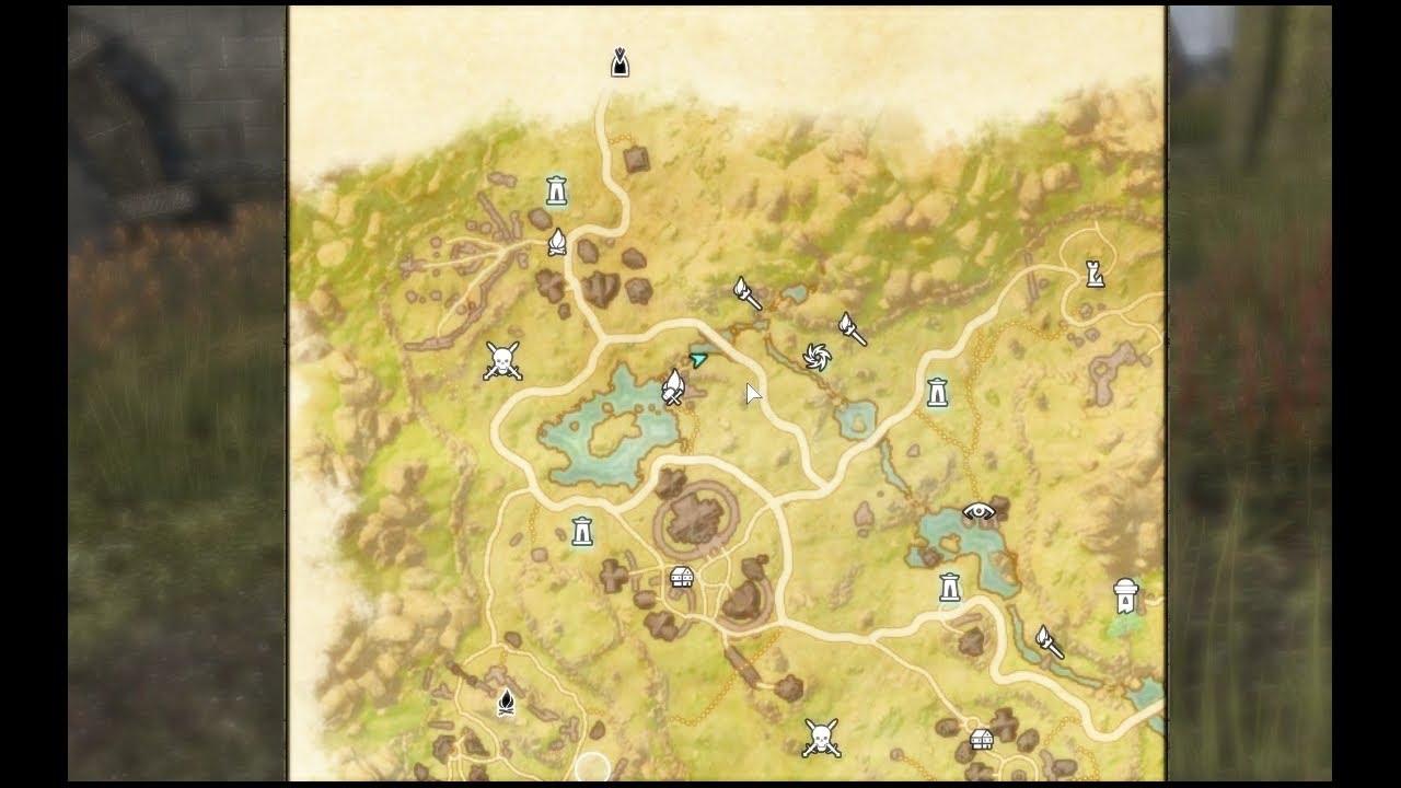 Elder Scrolls Online - Treasure Map II Deshaan - YouTube on