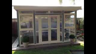Fully Insulated Log Cabin, Summerhouse Or An Ideal Garden Home Office