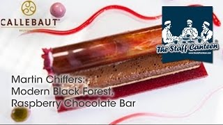 Modern Black Forest, Raspberry Chocolate Bar - Recipe And Plating Tips From Chef Martin Chiffers