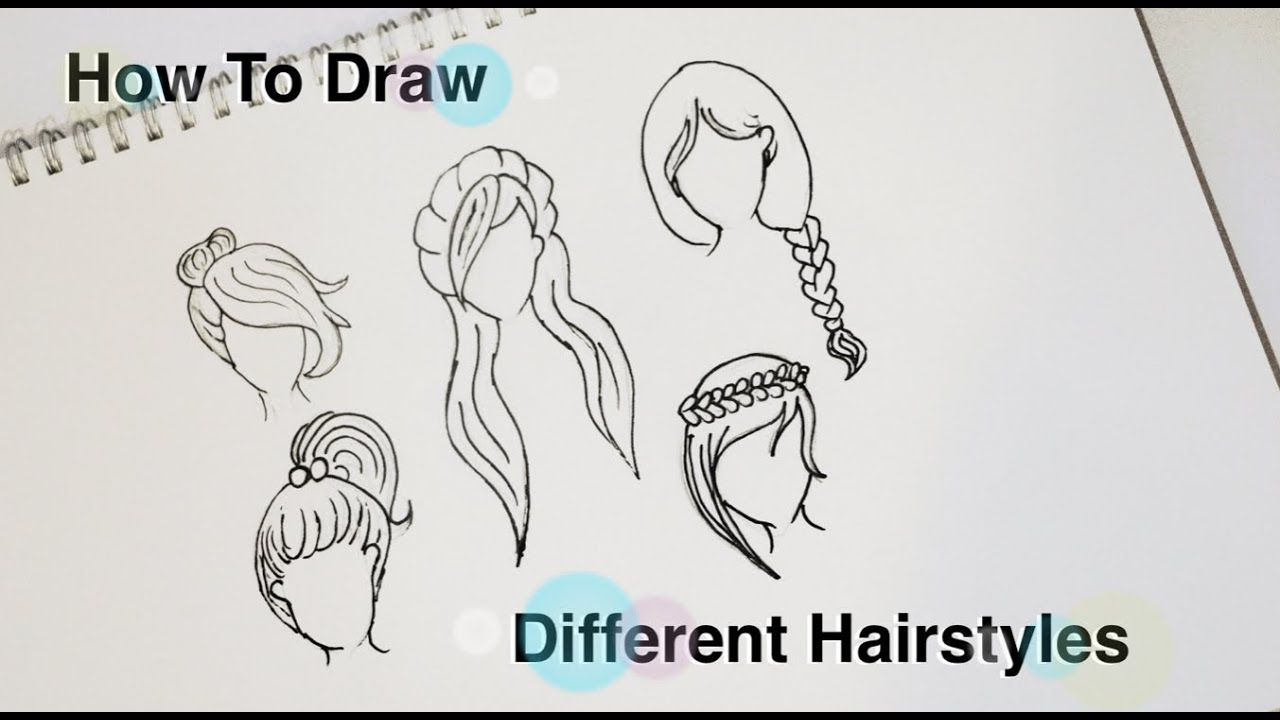 Draw Different Anime Hairstyles