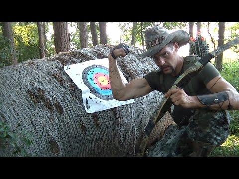 TGO Extreme Archery 100lb Bow 50 Arrows! Skyrim Real Life