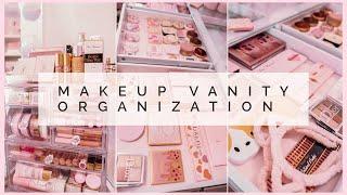 Makeup Collection Organization + Putting away NEW Makeup