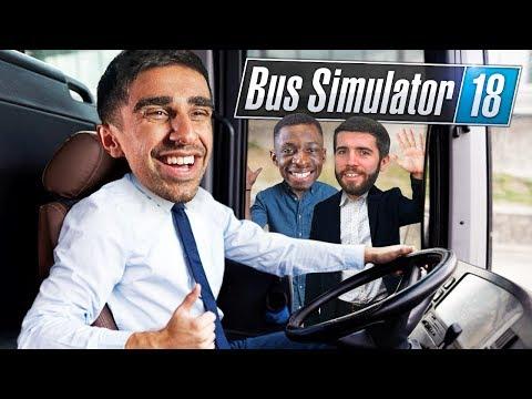 LETTING VIKK DRIVE! TBJZLPlays BUS SIMULATOR 18  