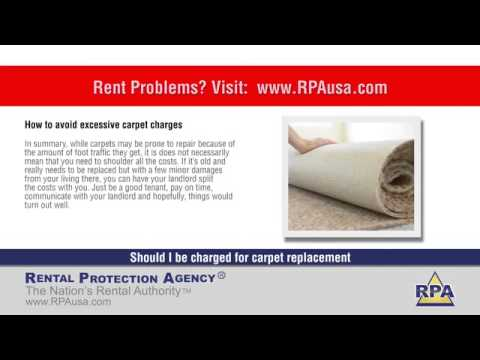 Can A Landlord Charge For Carpet Replacement In California