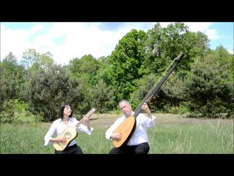 LUTEDUO Plays R.de Visee Chaconne In G Www.luteduo.com