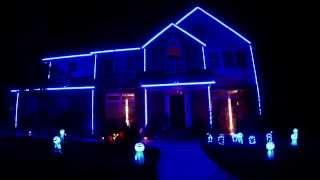 Repeat youtube video 2013 Halloween Lights - Deadmau5 - Ghosts N Stuff (Hard Intro) Walking Dead