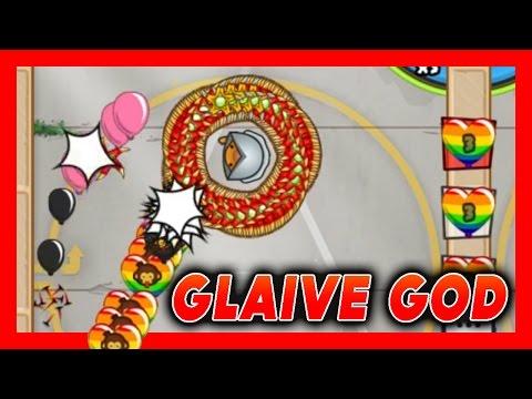 "BTD Battles ""Glaive God"" Glitch?! Bloons TD Battles ft. Blaze It"