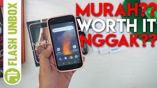 Unboxing Nokia 1 One Android Go Pertama Resmi Indonesia