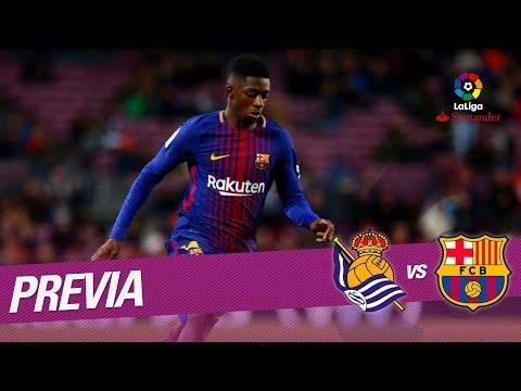 Previa Real Sociedad vs FC Barcelona