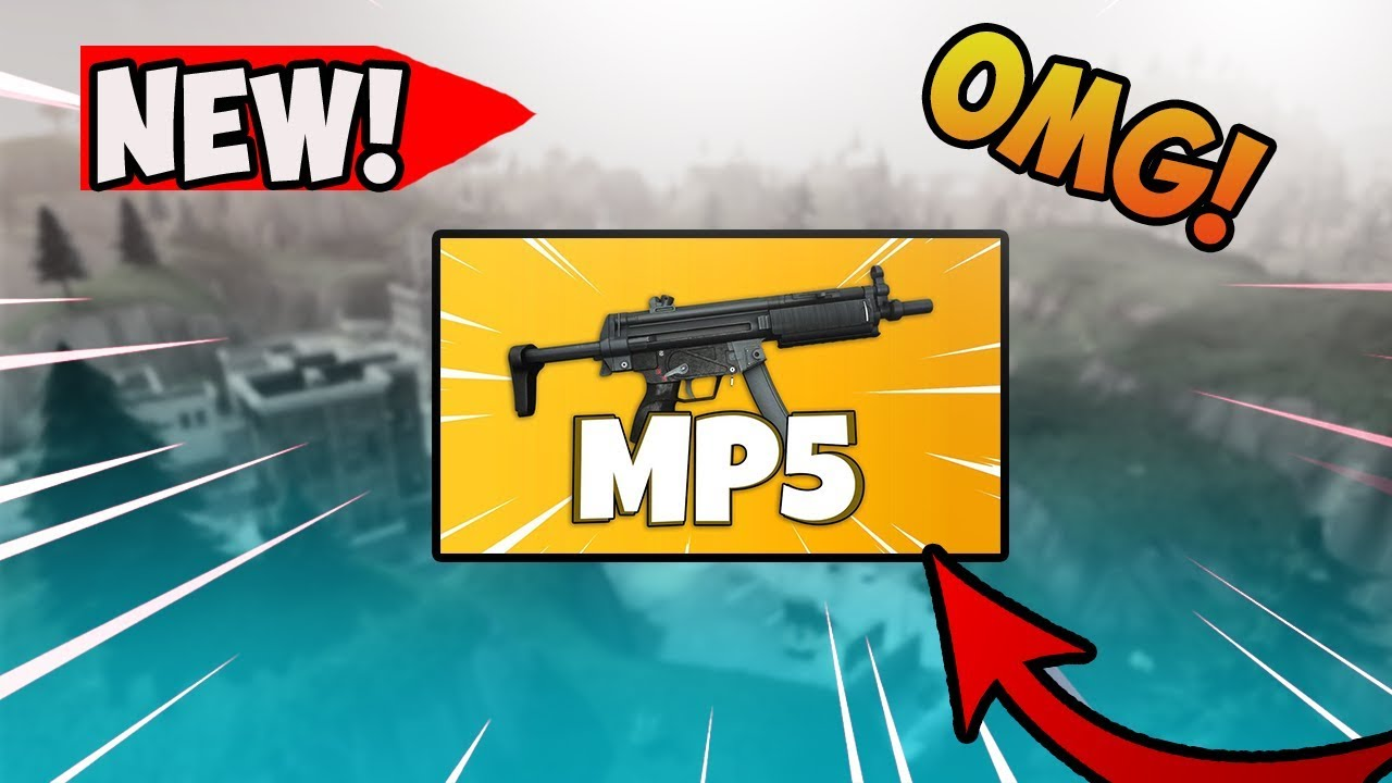 Fortnite New Mp5 Smg High Kill Gameplay Tactical Smg Got Vaulted