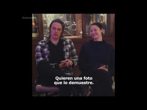 Sam Heughan & Caitriona Balfe | Outlander PCA's Q&A | Sub. Español