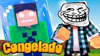 Minecraft: CONGELEI O SPOK  !! - (Minecraft Troll)