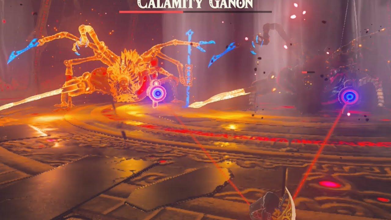 Calamity Ganon Brothers Vs Link Zelda Breath Of The Wild