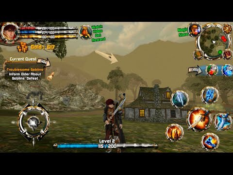 Great!! ENG and No auto | Crimson Warden Android Openworld Rpg Gameplay