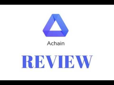 Achain (ACT) Review | ACT Telegram Referral Program for Indian investors  (plus ACT giveaway results)