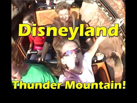Big Thunder Mountain Railroad - Disneyland Roller Coaster