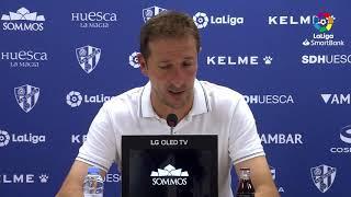 Rueda de prensa de Luis Miguel Ramis tras el SD Huesca vs Albacete BP (0-1)