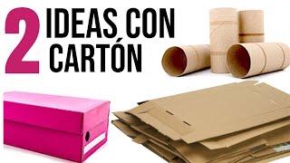 2 Ideas Increíbles de Reciclaje con Cartón