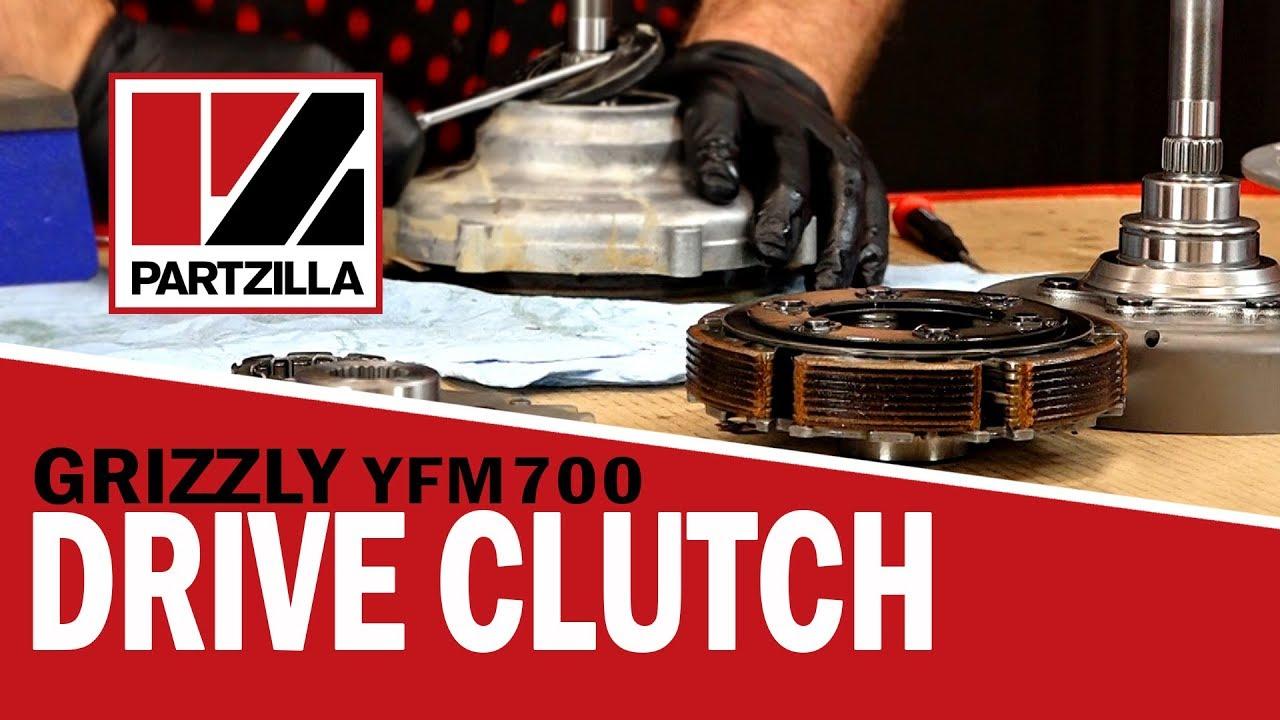 yamaha grizzly drive clutch rebuild yamaha grizzly yfm700 clutch partzilla com [ 1280 x 720 Pixel ]