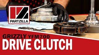 Yamaha Grizzly Drive Clutch Rebuild   Yamaha Grizzly YFM700 Clutch   Partzilla.com