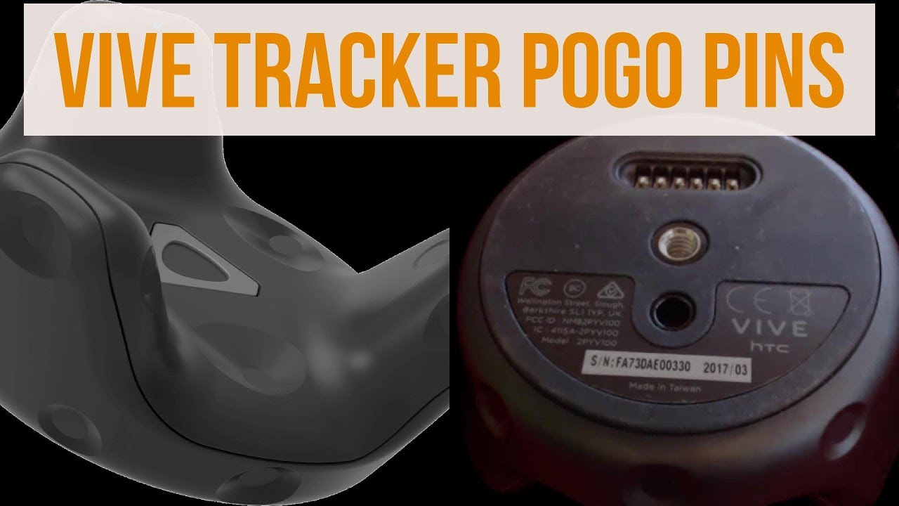 How to use Unity3D Vive Trackers POGO Pins - It's Easy