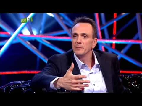 Hank Azaria on The Justin Lee Collins Show