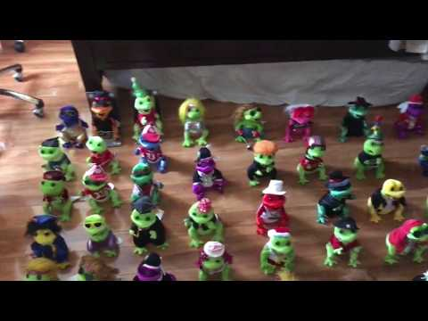 My Non-retired Frogz Collection (10/14/16)