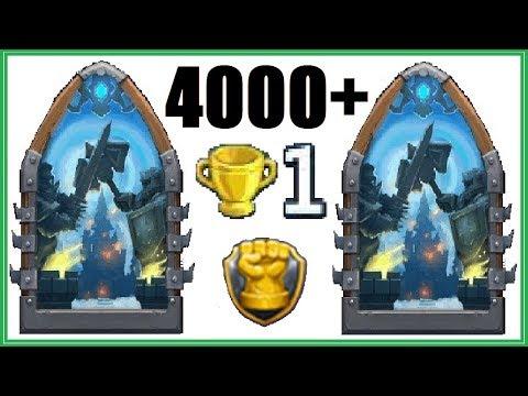 Finally! 4000+ Guild Wars Record! Castle Clash