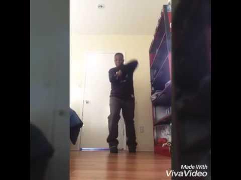 Rainbow krump dance