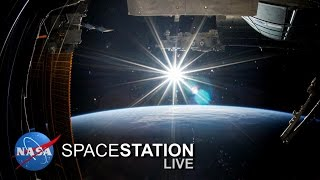 Space Station Live: Cosmic Ray Detector for ISS