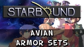 Starbound - Avian Armour Sets
