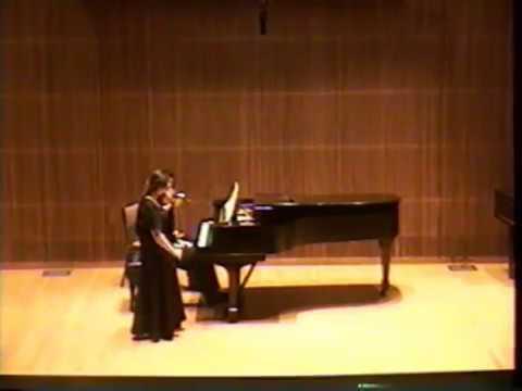 Anita Mishoukova Recitals in 1996, part 4 (Stravinsky, Kreisler)