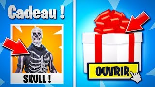 "FORTNITE OFFER of ""CADEAUX"" for FORTNITE Battle Royale! 😱 (SKIN FREE)"