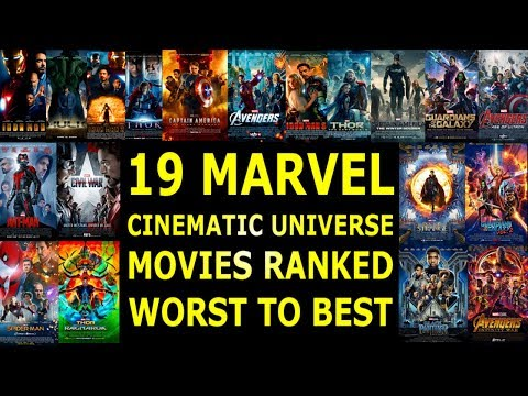 19 Marvel Cinematic Universe Movies Ranked Worst to Best