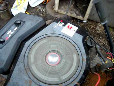 Briggs Stratton Oppossed 18hp Twin