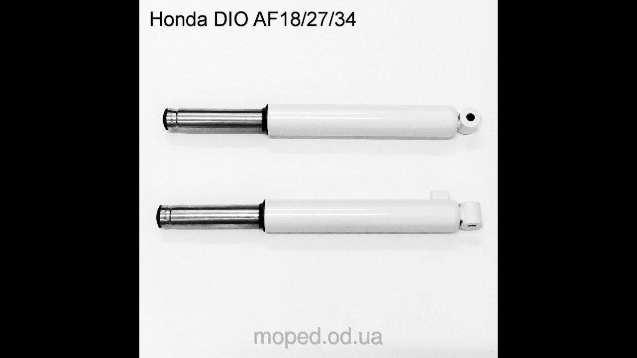 постройка самодельных амортизаторов на Хонда Дио18,25, 27,28,34,35 Honda Dio 27
