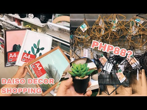 Shopping for affordable room decor! (Philippines) | Chelsea Valencia