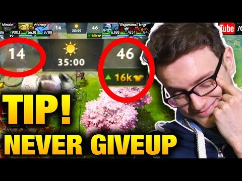 Daily Comeback - Mission Impossible - Miracle VS Waga KingR and Ghostik Dota 2
