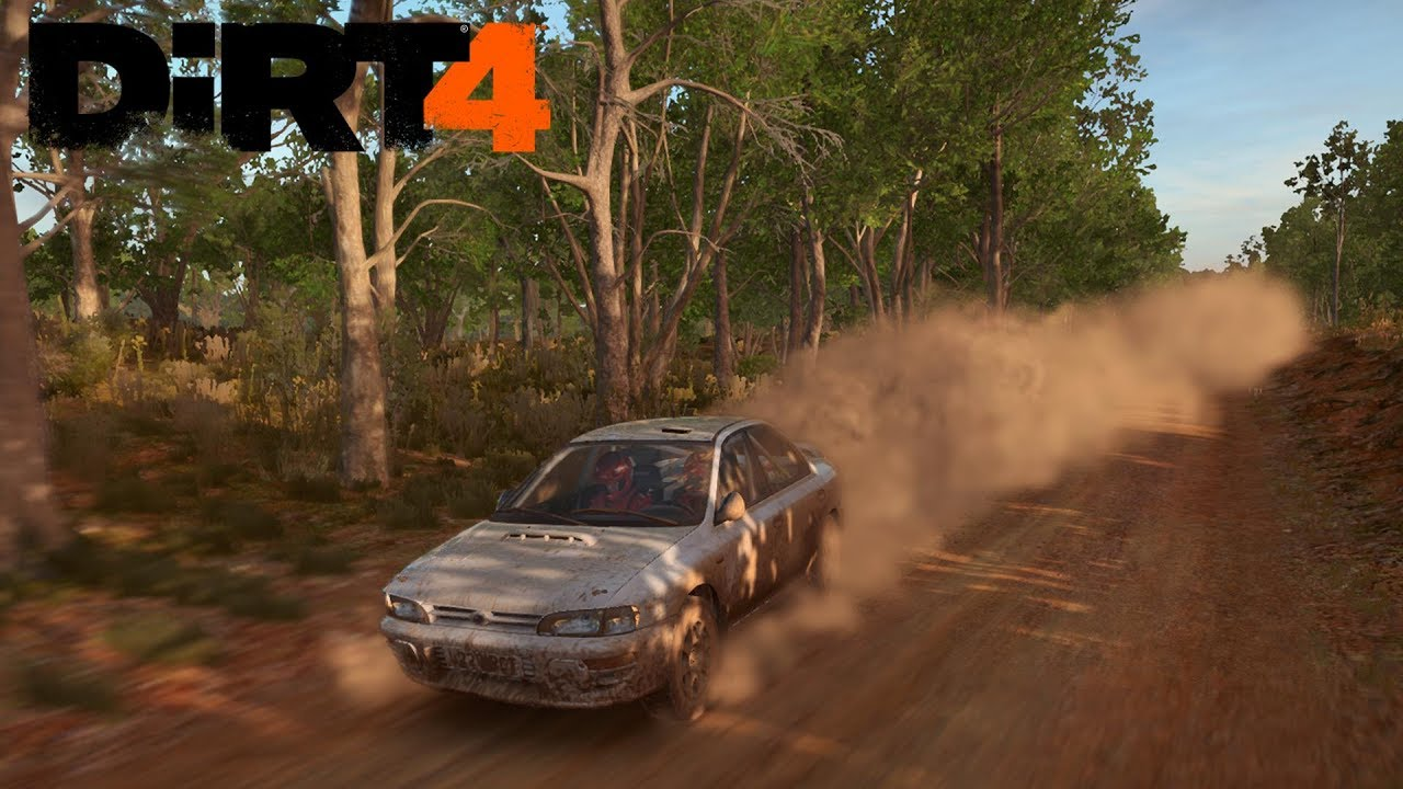 dirt 4 rally australia subaru impreza sti ps4 pro. Black Bedroom Furniture Sets. Home Design Ideas